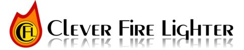 Clever Fire Lighter Logo